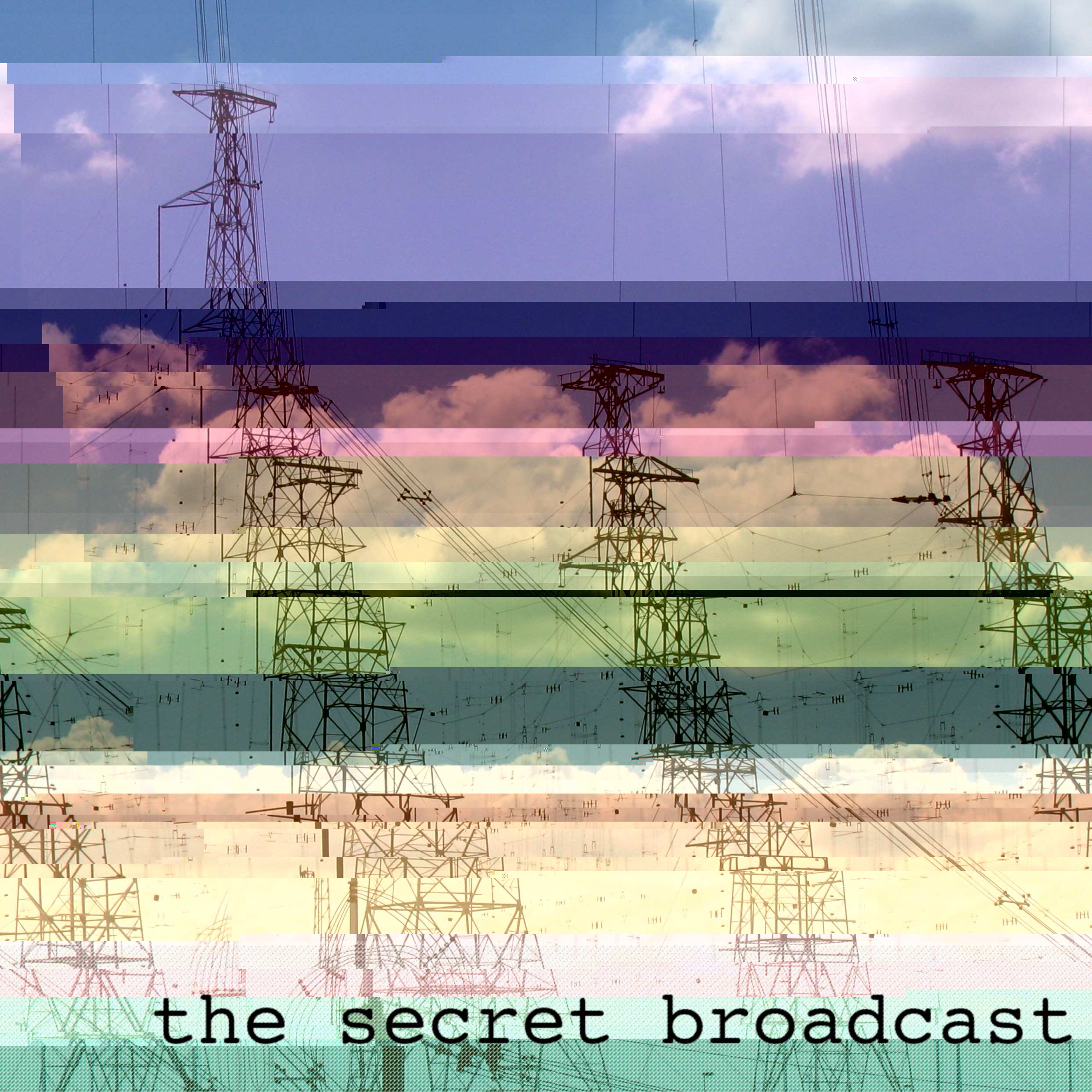 A glitched view of a shortwave transmitter